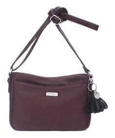 Look what I found on #zulily! Raisin Brynn Crossbody Bag #zulilyfinds