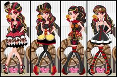 Ever After High Lizzie Hearts Hat-Tastic Tea Party Dress Up Game : http://www.starsue.net/game/Lizzie-Hearts-Hat-Tastic-Party.html Have Fun! =)