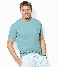 00abd1f1 Polo Ralph Lauren Medium-Fit No Pocket Tee | Dillards.com Dillards, Men's