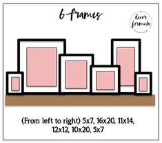 How to Decorate Picture Ledges — The Decor Formula – wanddekoration Picture Frame Shelves, Frame Shelf, Picture Ledge Bedroom, Shelves With Pictures, Picture Ledge Shelf, Bedroom Pictures, Gallery Wall Frames, Frames On Wall, Wall Ledge