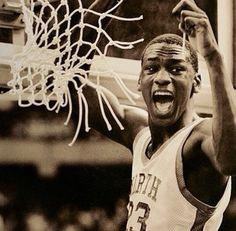 Michael Jordan at the 1982 NCAA Championship Game