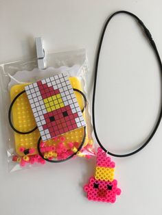 Combine Shopkins & Perler Beads for a unique party favor that kids can create themselves! The kit comes with everything: beads, rack, iron sheet, instructions. We can include pieces to create a keychain OR necklace. Convo us if you want a specific shopkin pearler bead favor and we can