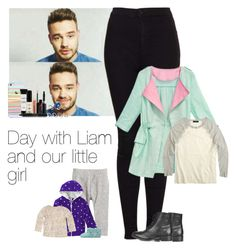 """""""Day with Liam and our little girl"""" by haushuahusahuhushu ❤ liked on Polyvore featuring H&M, Carter's, Payne, STELLA McCARTNEY, Topshop, UGG Australia, J.Crew, Smashbox, ASOS and LiamPayne"""