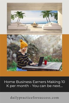 Learn how you can earn 10K working from home Work From Home Tips, Search Engine Marketing, Creating A Business, Making 10, Earn Money Online, Home Hacks, Online Business, How To Make Money, Sofa