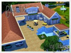 Blusstal house by Oldbox at All 4 Sims via Sims 4 Updates