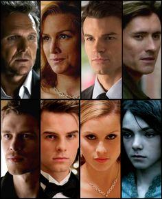 Original Mikaelson Family