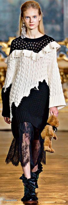 Super ideas for knitting patterns sweaters women winter knitwear Fashion Sewing, Knit Fashion, Cardigan Design, Vivetta, Clothing Patterns, Baby Knitting, Knitting Patterns, Luxor, Sweaters For Women