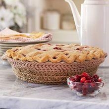 Lily® Sugar'n Cream® Crochet Pie Carrier