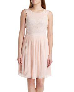 Lace bodice reversible dress - Nude Pink | Dresses | Ted Baker UK