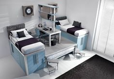 efficient space saving furniture for kids rooms tumidei spa (5)