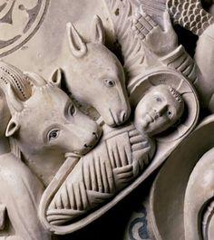 ) Pulpito, XIII d. Romanesque Sculpture, Art Roman, Byzantine Icons, Biblical Art, Small Sculptures, Medieval Art, Sacred Art, Christian Art, Religious Art