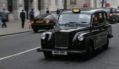 Eliza'a cab she rides in