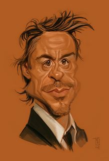 The New Exhibition of Caricature - Alberto Russo-Switzerland :: Robert_Downey_Jr Funny Caricatures, Celebrity Caricatures, Celebrity Drawings, Cartoon Faces, Funny Faces, Cartoon Art, Caricature Artist, Caricature Drawing, Drawing Art