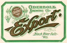 Oderbolz Beer label