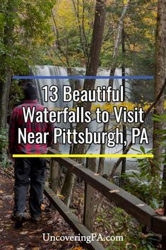 Beautiful waterfalls to visit near Pittsburgh, Pennsylvania Pittsburg Pennsylvania, Camping In Pennsylvania, Cool Places To Visit, Places To Travel, Places To Go, Travel Stuff, Travel Sights, Weekend Trips, Day Trips
