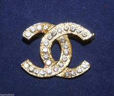 Vintage AUTHENTIC Chanel Gold Brooch Crystal Rhinestone. Get the lowest price on Vintage AUTHENTIC Chanel Gold Brooch Crystal Rhinestone and other fabulous designer clothing and accessories! Shop Tradesy now