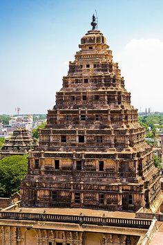 Goodagopuram,Tanjore Palace by Sridhar Rao Chaganti (2007), via Flickr #India