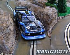 Slot car, Slot car scenery, HOW-TO, Rally Scenery Track Piece