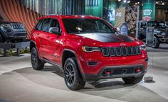 View 2017 Jeep Grand Cherokee Trailhawk: More Off-Road Prowess for the Grandest Jeep Photos from Car and Driver. Find high-resolution car images in our photo-gallery archive.