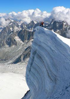 Mont Blanc du Tacul serac!