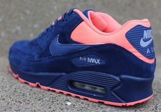 Nike Air Max 90: Brave Blue & Atomic Pink