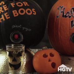 Pumpkin Wine Keg