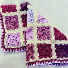 5 shades of pink... #babyblanket #willowsquare #willowblock #solidwillowsquare #shadesofpink #crochetblanket #crochet #croche #crochê #cacaucrochet #crochetersofinstagram #crocheting #crochetando #ganchillo #crocheted #crochetlove #crochetlover #crochetaddict #crochetobsessed #crochetforkids by cacaucrochet