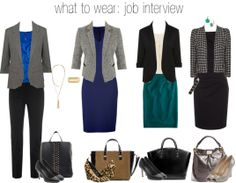 professional attire - this would work at the office all the time, not just an interview.