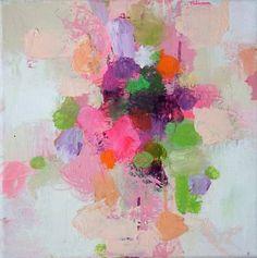 """Saatchi Art Artist Sandy Dooley; Painting, """"Abstract Blooms II"""" #art"""