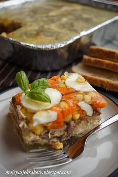 moje pasje: Galareta drobiowa Appetizer Recipes, Appetizers, Polish Recipes, Polish Food, Recipies, Food And Drink, Menu, Mexican, Yummy Food