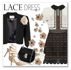 """Lovely Lace Dresses"" by andrejae ❤ liked on Polyvore featuring Jacques Vert, self-portrait, Wild Diva, Chloé and lacedress"
