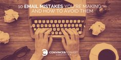 Are you guilty of making one of these common email marketing mistakes? Here's how to avoid them—and make sure your emails get read and acted on. Best Tax Software, Infographic Software, Design Campaign, Email Programs, Get Reading, Email Campaign, Email Marketing, Digital Marketing, Growing Your Business