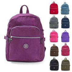 $25 Brand New with Tag Womens Girls Backpack Vivid Color Casual School Bag Book Bag | eBay