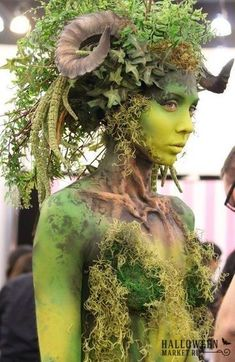 The Wandering Sprite Forest Creatures, Fantasy Creatures, Mythical Creatures, Avant Garde Hair, Fx Makeup, Rave Makeup, Fantasy Makeup, Fantasy Hair, Special Effects Makeup