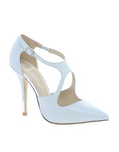 Faith Cydney Cross Strap Shoes ($88.24) Love the light hues of blue that have hit the market.