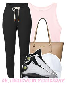 """@sunnyhere7111"" by g0lden-twins ❤ liked on Polyvore featuring Victoria's Secret, MICHAEL Michael Kors, Lija, Forever 21 and Retrò"