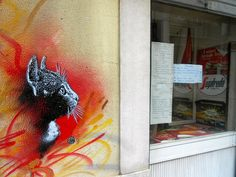 New Stencils by C215