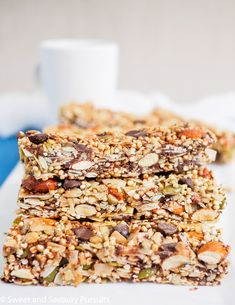 Homemade Coconut and Seed Bars