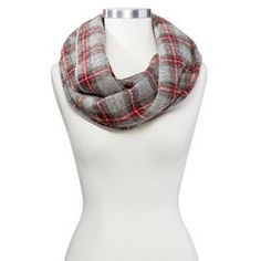 Faribault for Target Wool Infinity Scarf - Ely Plaid