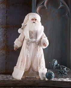 H7D21 Katherine's Collection Snow King Santa