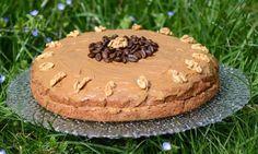 Anglie – kávovo-ořechový dort
