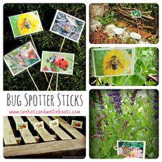 Sun Hats & Wellie Boots: Bug Spotter Sticks