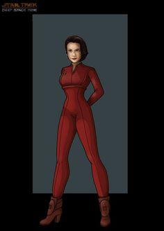 Colonel Kira Nerys - Star Trek:  Deep Space Nine by NightWing1975 @deviantART
