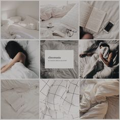 Aesthetic Mood Board// sleep #sleep #aesthetic #moodboard