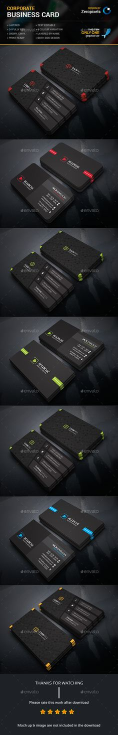 Business Card Template PSD Bundle. Download here: http://graphicriver.net/item/business-card-bundle/15695161?ref=ksioks