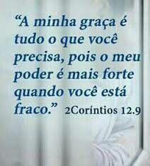 2 Coríntios 12. 9