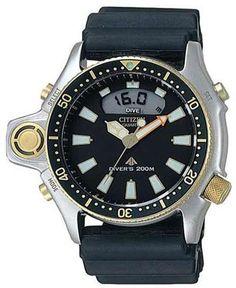 Elegante detaljer på Citizen Promaster uret til mænd! #uniwatches