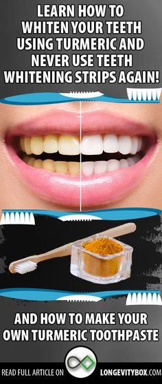 Did you know that you can naturally whiten your teeth using turmeric toothpaste?