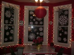 pinterest, holiday windows - Google Search