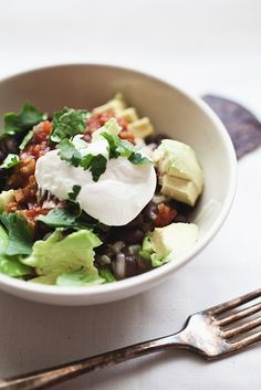 Burrito Bowls by thelittleredhouse #Salad #Burrito